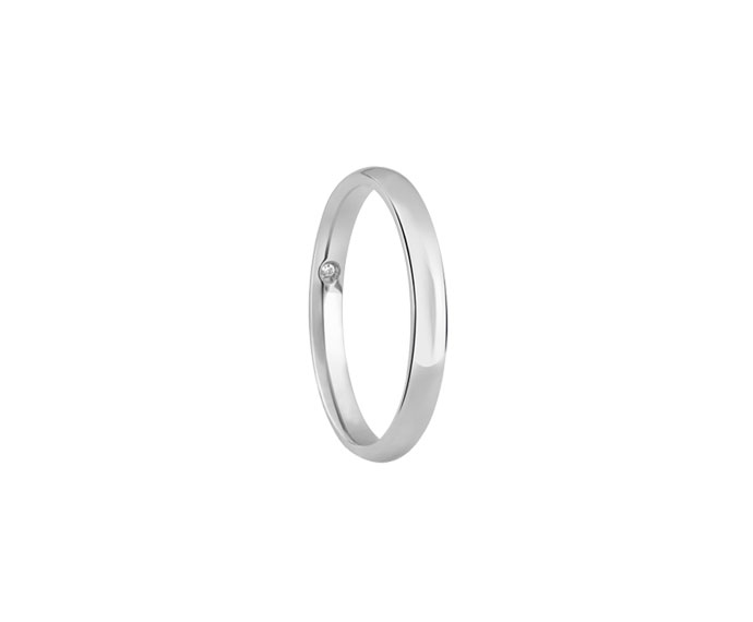 Damiani - White gold wedding ring