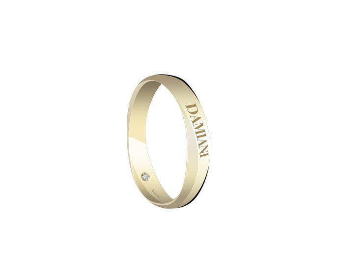 Damiani - Yellow gold wedding ring