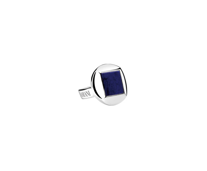 DAMIANI - Silver and lapis lazul cufflinks