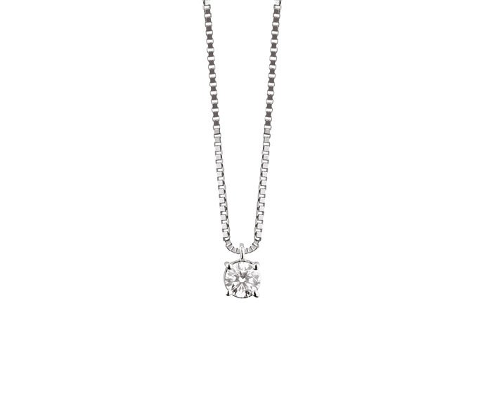 Damiani - White gold and diamonds necklace