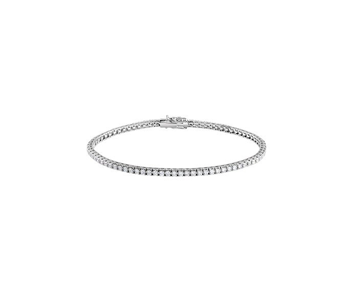 DAMIANI - White gold and diamonds Tennis bracelet