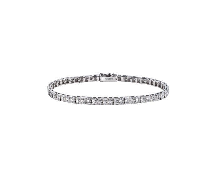 Damiani - White gold with diamonds bracelet