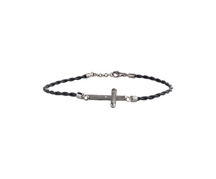 DAMIANI - Bracciale in oro black con diamanti