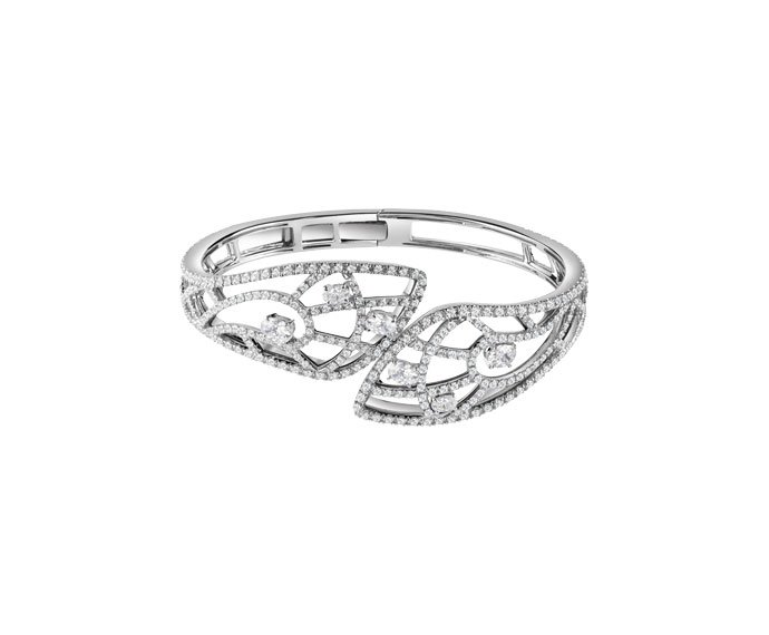 DAMIANI - White gold and diamonds bracelet