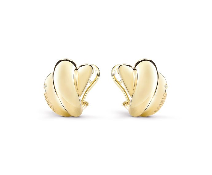 Damiani - Yellow gold earrings