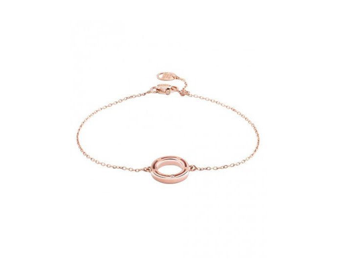 DAMIANI - Pink gold with diamond bracelet