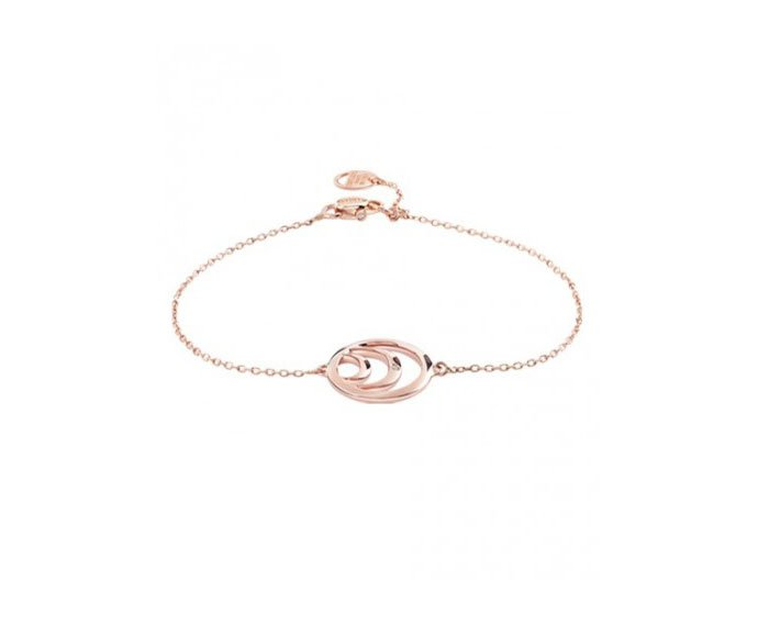 DAMIANI - Pink gold and diamond bracelet