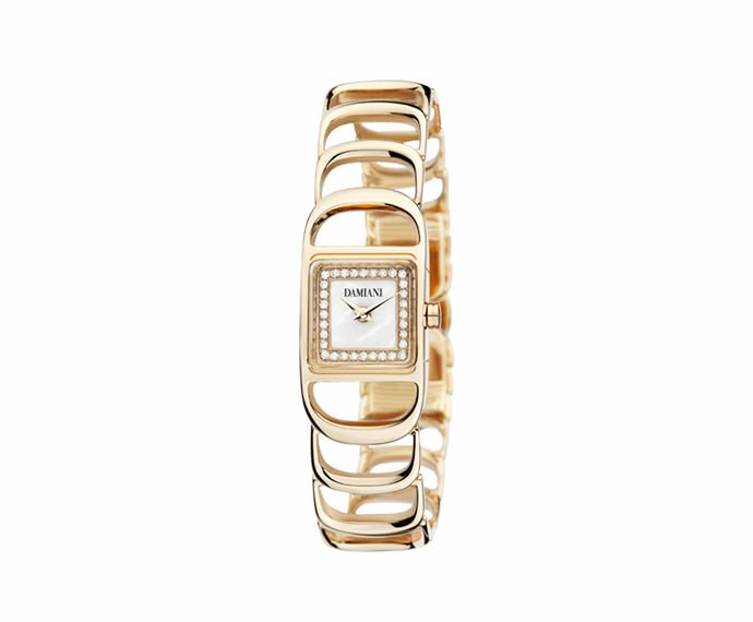 Damiani - Pink gold light setting watch