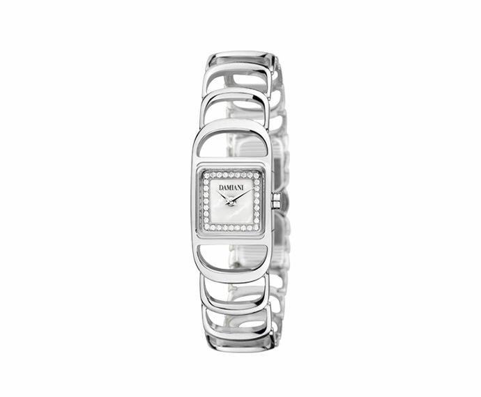 Damiani - White gold light setting watch
