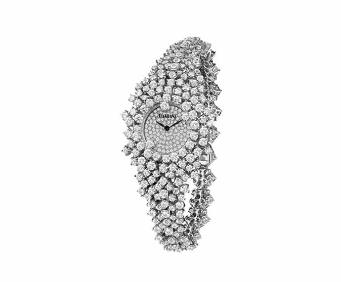 Damiani - Watch with white gold and diamonds bracelet