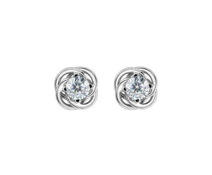 Damiani - White gold and diamonds earrings