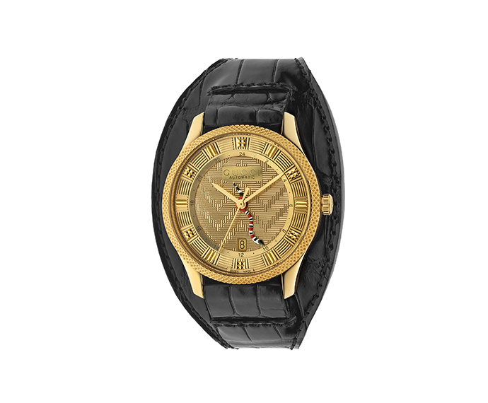 GUCCI - G-Timeless 40 mm Yellow gold PVD
