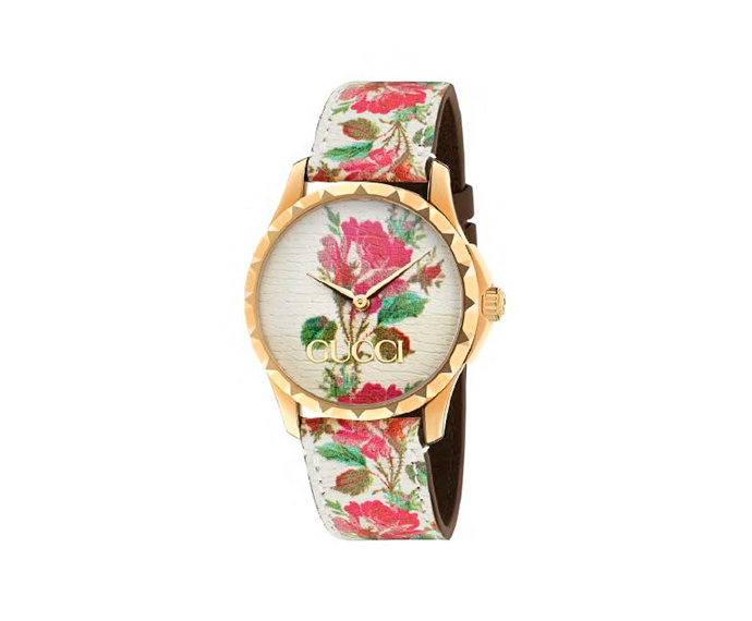 GUCCI - G-Timeless 38 mm Yellow gold