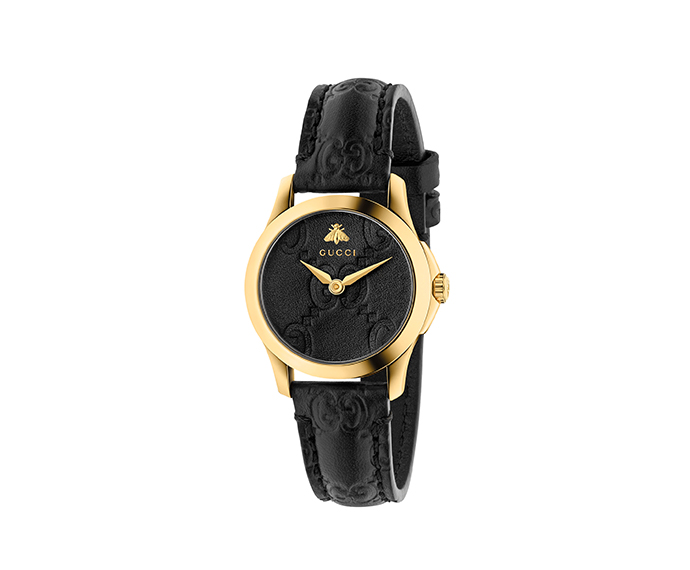 GUCCI - G-Timeless 27 mm Yellow gold PVD