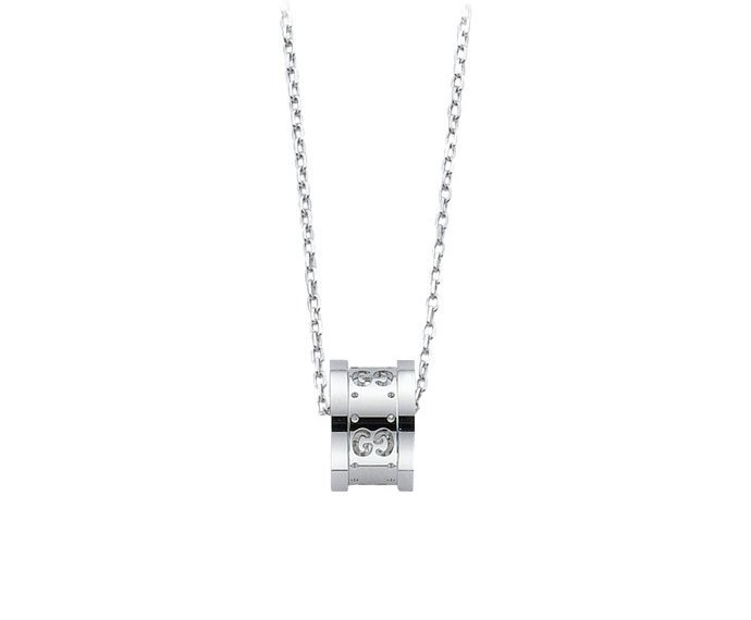 Gucci - Necklace twirl in white gold 18 K