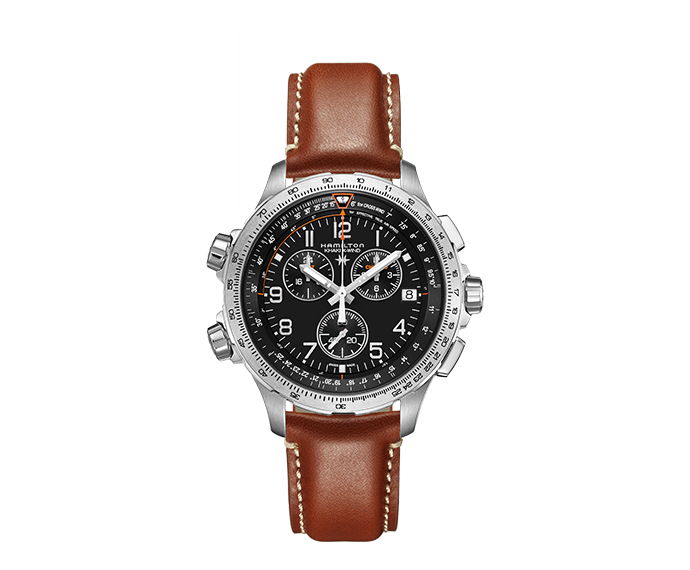 HAMILTON - Khaki X-Wind Chrono Quarzo GMT