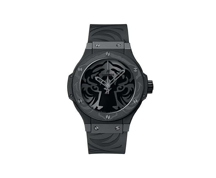 HUBLOT - Black Jaguar White Tiger Foundation All Black 44 mm