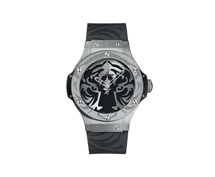 HUBLOT - Black Jaguar White Tiger Foundation Steel 44mm
