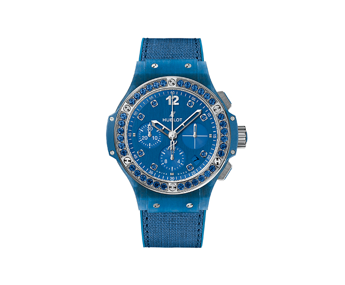 HUBLOT - Blue Linen 41 mm