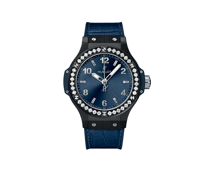 HUBLOT - Ceramic Blue Diamonds