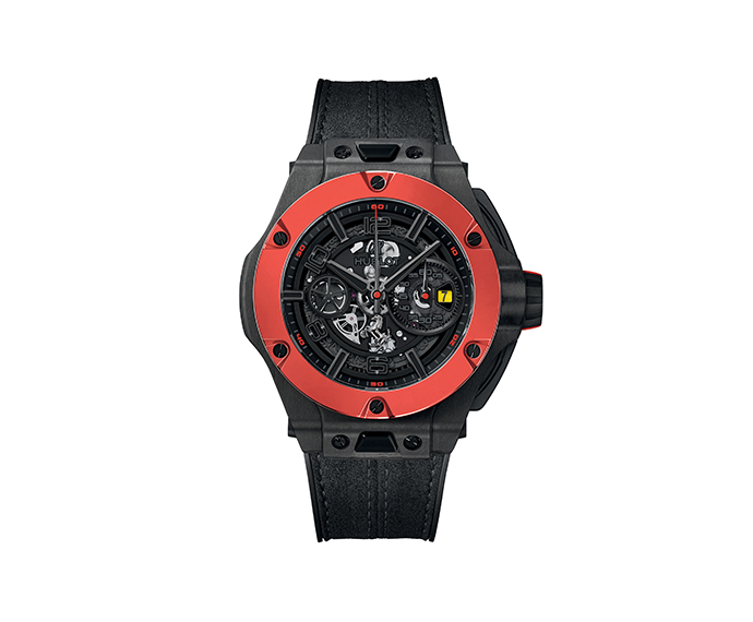 HUBLOT - Ferrari Unico Carbon Red Ceramic