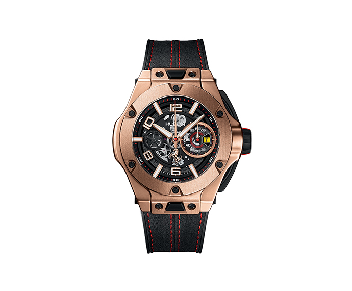HUBLOT - Ferrari Unico King Gold 45 mm