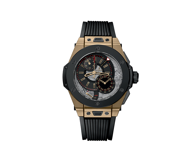 HUBLOT - Alarm Repeater Magic Gold Ceramic 45mm