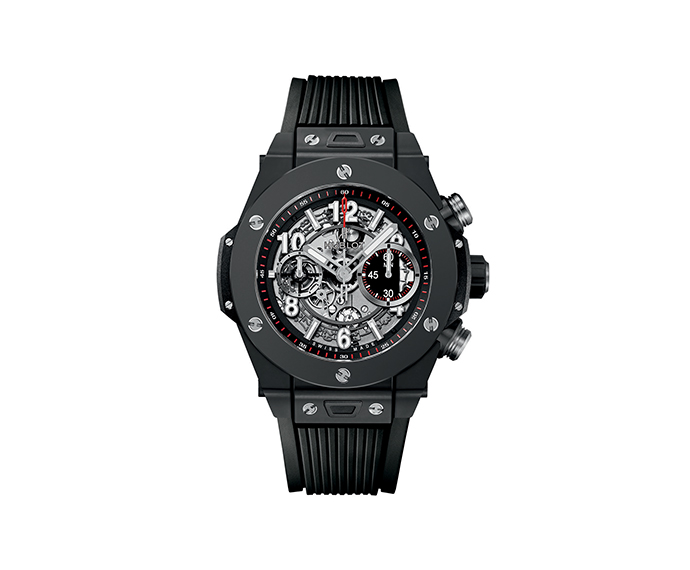 HUBLOT - Unico Black Magic 45mm