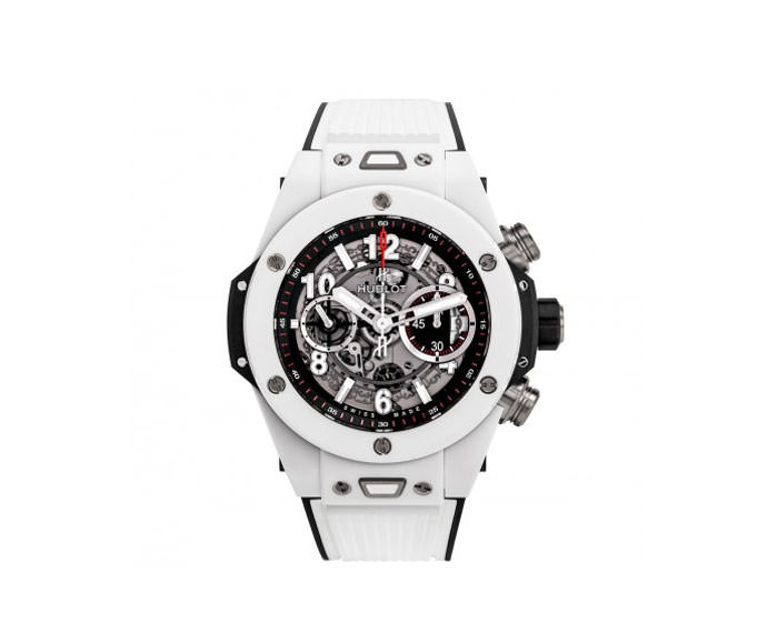 HUBLOT - Unico White Ceramic 45mm