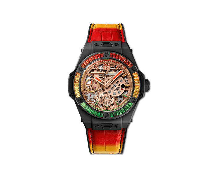 HUBLOT - Big Bang Meca - 10 Nicky Jam Ceramic X Setting