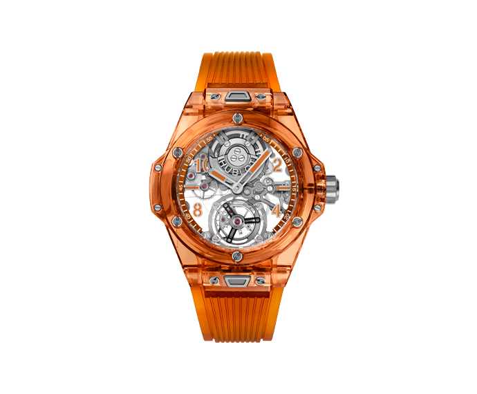 HUBLOT - Big Bang Tourbillon Automatic Orange Sapphire