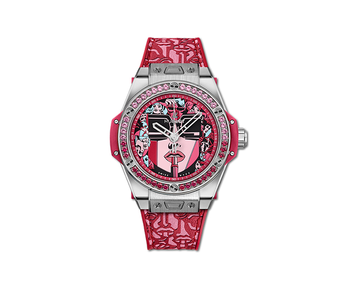 HUBLOT - Big Bang One Click Marc Ferrero Steel Red
