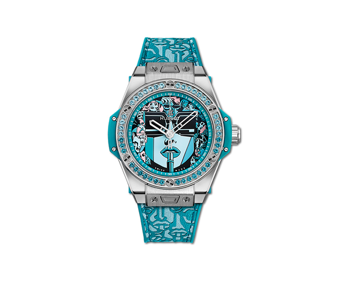 Hublot - Big Bang One Click Marc Ferrero Steel Turquoise