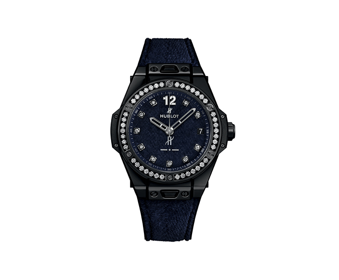 HUBLOT - One Click Italia Independent Dark Blue Velvet 39 mm