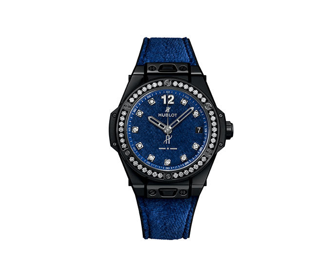 HUBLOT - One Click Italia Independent Blue Velvet 39 mm