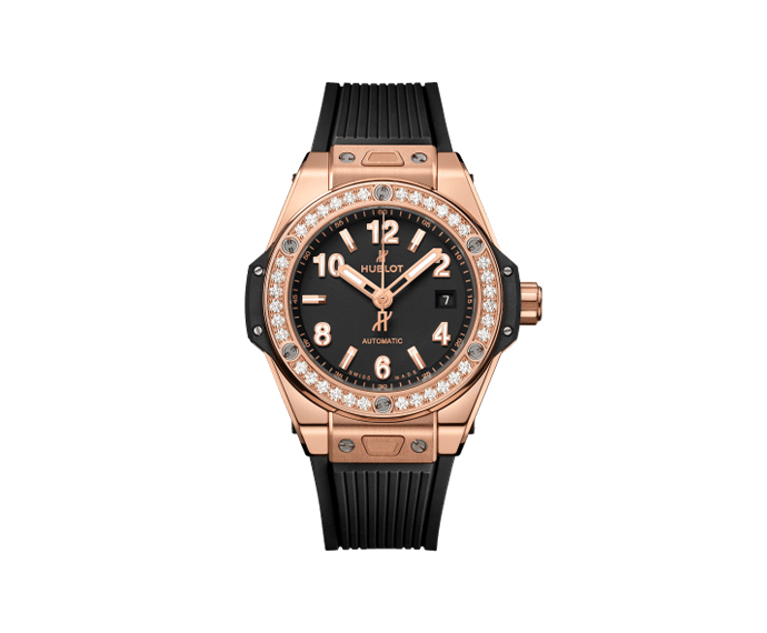 HUBLOT - Big Bang One Click King Gold Diamonds