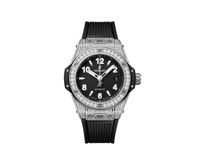 HUBLOT - Big Bang One Click Steel Pavé