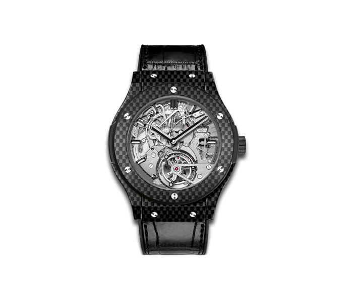 Hublot - Tourbillon Cathedral Minute Repeater Carbon 45mm