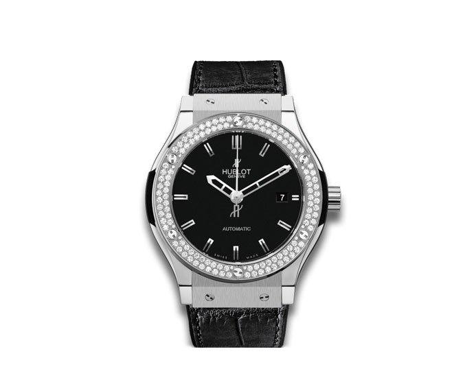 Hublot - Titanium Diamonds 45mm