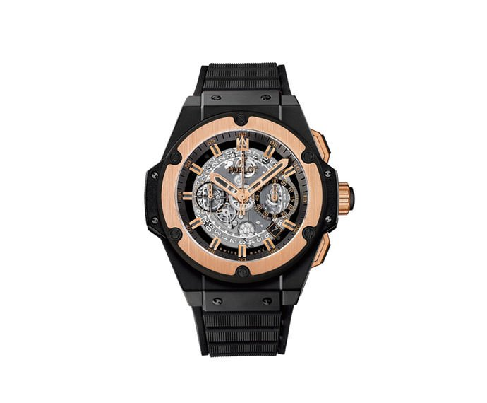 HUBLOT - Unico Ceramic King Gold 48mm