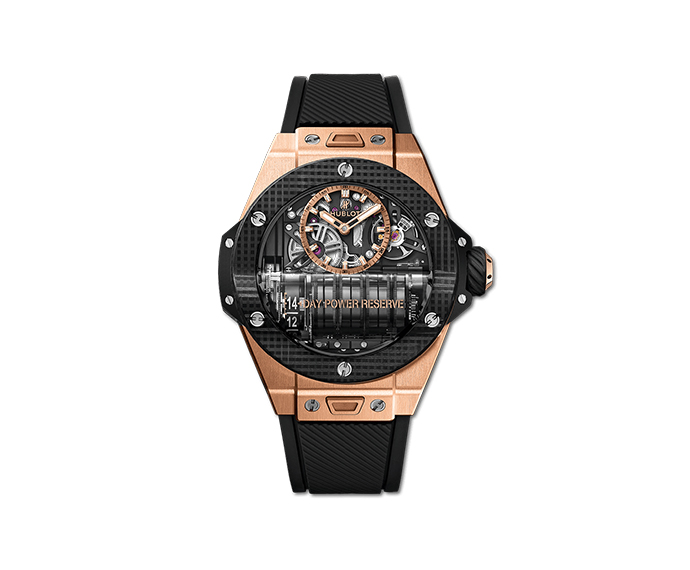 Hublot - Big Bang MP – 11 Power Reserve 14 Days King Gold 3D Carbon