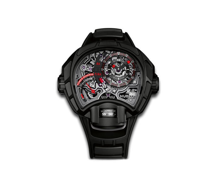 Hublot - MP-12 Key of Time Skeleton All Black