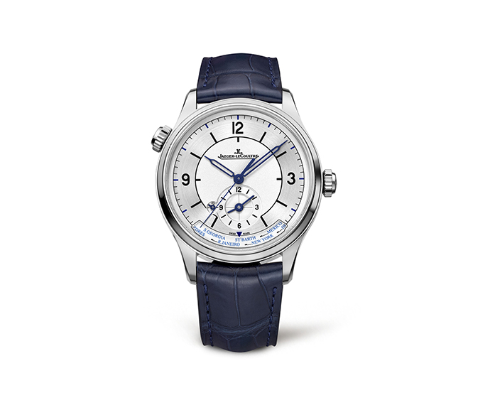 JAEGER-LECOULTRE - Master Geographic Steel