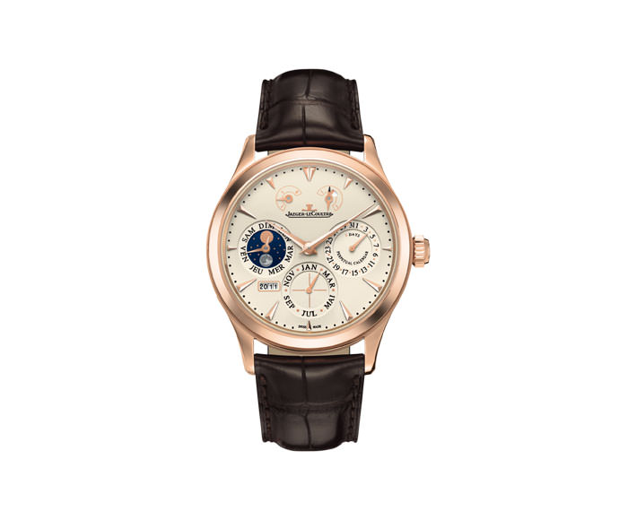 JAEGER-LECOULTRE - Master Eight Days Perpetual Pink Gold