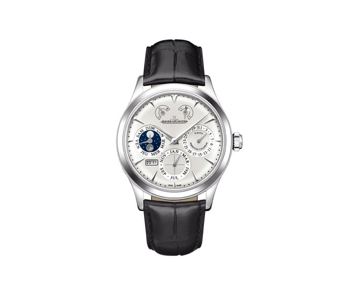 JAEGER-LECOULTRE - Master Eight Days Perpetual Steel