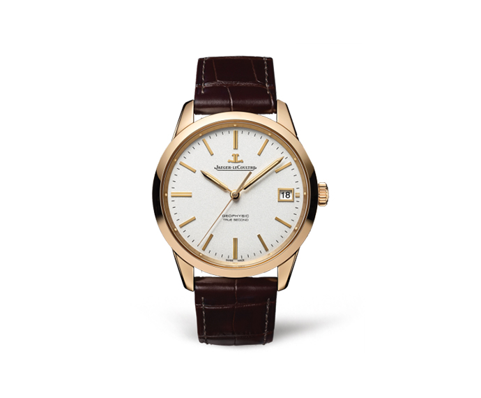 JAEGER-LECOULTRE - Geophysic True Second Pink gold