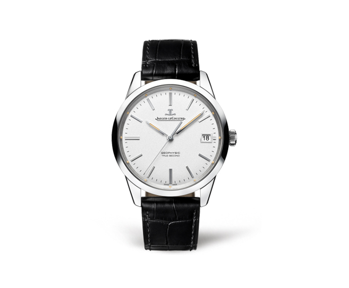 JAEGER-LECOULTRE - Geophysic date auto Steel