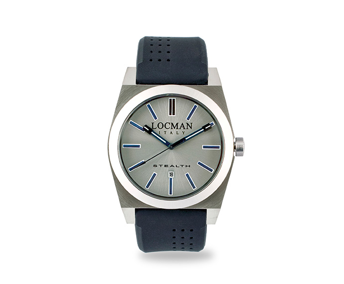 LOCMAN - Stealth Solo Tempo, Quartz, Steel and Titanium case