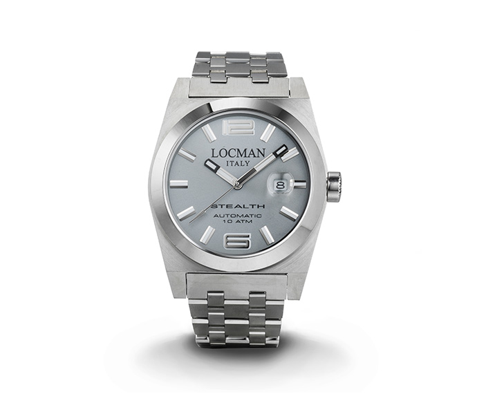Locman - Automatic Stealth Solo Tempo, Steel and Titanium case