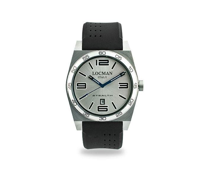 LOCMAN - Stealth Solo Tempo, Quartz, Steel and Titanium case, Black